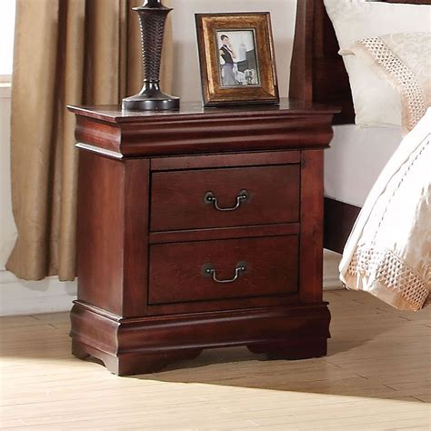 louis philippe nightstand cherry nightstands bedroom