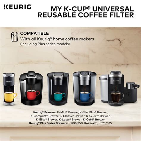 At your doorstep faster than ever. Keurig My K-Cup Universal Reusable Ground Coffee Filter ...