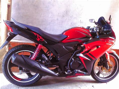 Honda Verza Modifikasi by Verza Modifikasi Monoshock Thecitycyclist