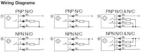 4 wire proximity diagram electrical schemes