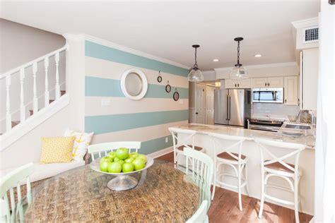 nautical inspired kitchen  beach flip beach