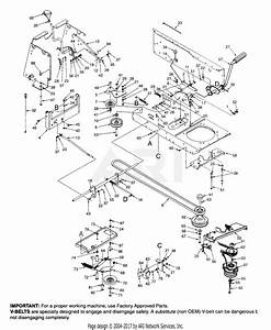 Mtd 14ai835p352  1999  Parts Diagram For Drive  Pto Clutch