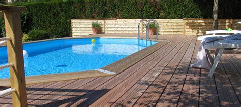 piscine en bois comment l installer jardin