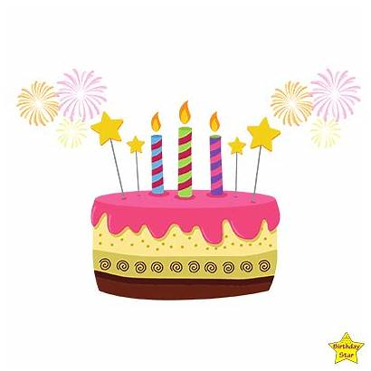 Candles Cake Birthday Clipart
