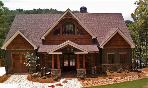 craftsman style lake house plan 3 story open mountain house floor plan asheville