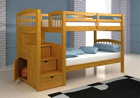 Bunk Bed With Stairs Plans | BED PLANS DIY & BLUEPRINTS