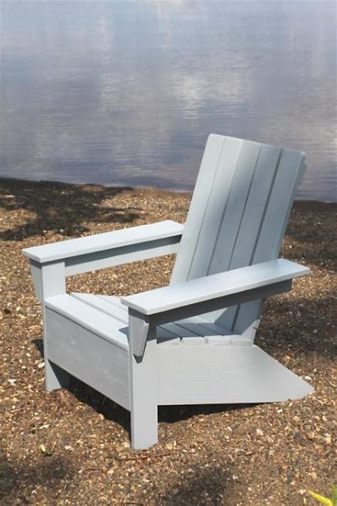 modern adirondack chair plans ideas for don