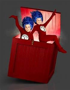 Wood boxes, Thing 1 and Dr seuss costumes on Pinterest