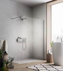 Duschwände Aus Glas : begehbare dusche mit duschwand aus glas f r moderne badezimmergestaltung badideen pinterest ~ Sanjose-hotels-ca.com Haus und Dekorationen