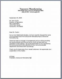 importance of knowing the business letter format With business letter template