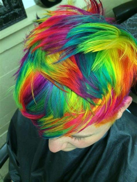 What Color To Dye Hair by Check Out The Tie And Dye Technique The Haircut Web