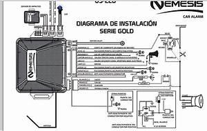 Diagrama Instalaci U00f3n Alarma Nemesis
