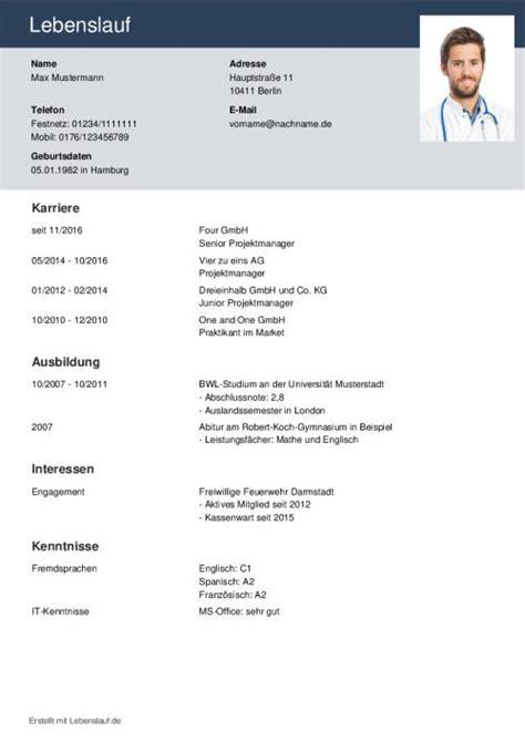 Lebenslauf Erstellen Muster by 15 Moderne Lebenslauf Schriften Geologe Lebenslauf