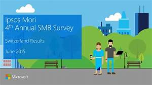 Ipsos Mori 4th Annual SMB Survey - Results for Switzerland