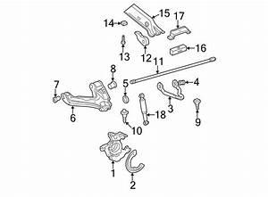 Chevrolet C1500 Suburban Suspension Crossmember Insulator