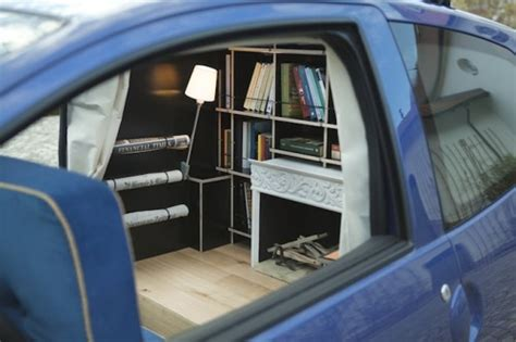 cozy study   subcompact car neatorama