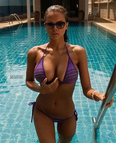 Viki Odintcova Victoria Pool Swimsuit Odintsova Dog