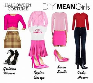 U0026quot;Mean Girls DIY Costumeu0026quot; by lavalledanika liked on Polyvore featuring Susana Monaco J.Crew ...
