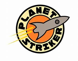 Clipart - Planet Striker Logo
