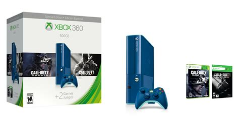 new xbox 360 console 2014 xbox 360 releases special edition blue console bundle