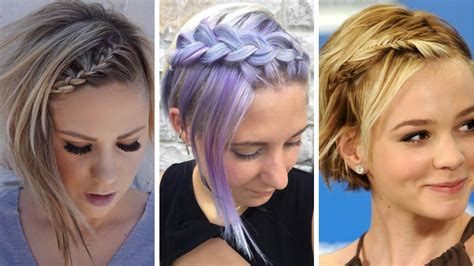 32 Best Short Hair Braid For Women With Short Haircut