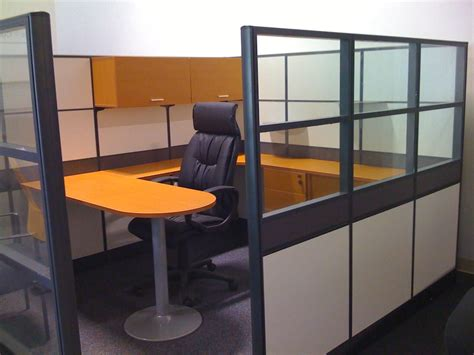 Office Space Knocking Cubicle by Emerald Executive Office Cubicle High Panel System