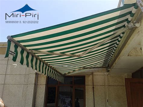 Commercial Double Side Retractable Awnings