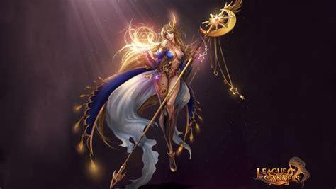 league  angels noelle fantasy angel warrior league