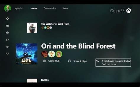 Xbox One Dashboard Update Includes A Huge New Design And