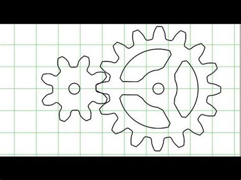 wooden gears template gear generator version 3