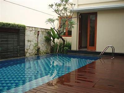 desain terbaru kolam renang  rumah minimalis