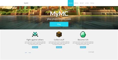 Mymc  Free Minecraft Website Template By Rodymol123 On. Meeting Attendance Sheet Template. Value Chain Analysis Template. 100 Ml Graduated Cylinder. First Communion Banner Templates. Fitness Flyer Template. St Patrick Day Flyer Template Free. Free Menu Template Word. Penn State Graduate School Application