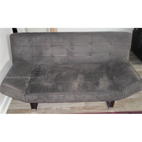 canapé en alcantara canape 3 places bo concept alcantara gris souris