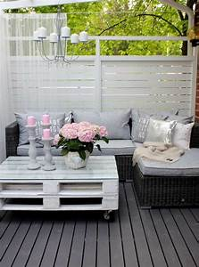 Balkon Oder Terrasse Unterschied : 40 terrassengestaltung bilder erneuern sie ihre terrasse oder ihren balkon tisch aus paletten ~ Whattoseeinmadrid.com Haus und Dekorationen