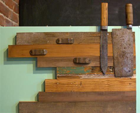 diy project reclaimed wood knife organizer designsponge