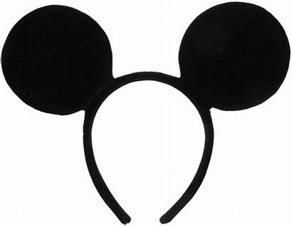 Mickey Ears Mouse Headband Disney Ear Plush