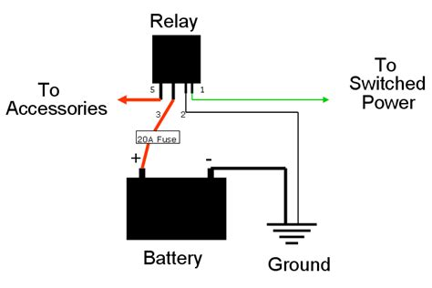 Wiring Relay For Accessories