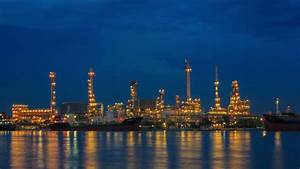 Oil Refinery, Industry Plant Day To Night 4K Timelapse ...