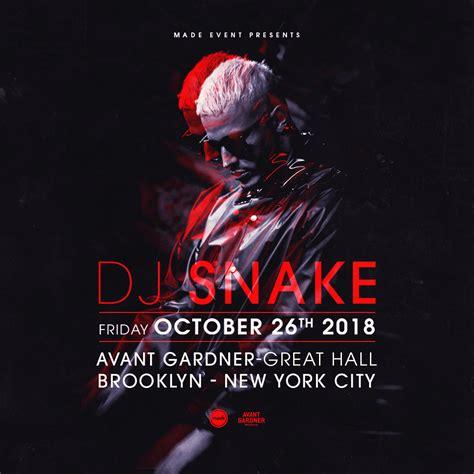 dj snake brooklyn made event