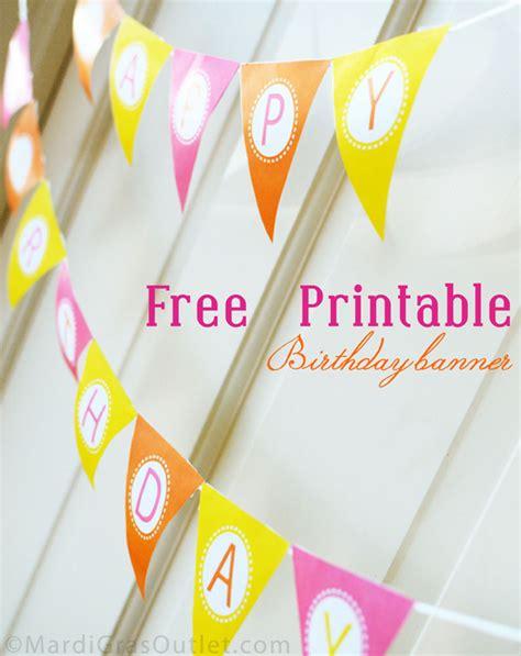 Happy Birthday Decorations Printable by 15 Free Birthday Printables I Heart Nap Time