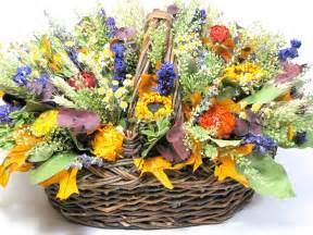 straw flowers fall floral arrangement dried flower arrangement autumn