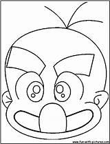 Hagemaru Coloring Pages Fun Printable sketch template