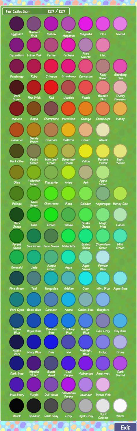 color dex alpaca world wiki fandom