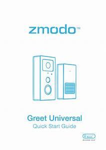 Zmodo Greet Smart Doorbell Quick Guide