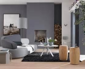 wohnzimmer farben wohnzimmer in der trendfarbe grau schöner wohnen