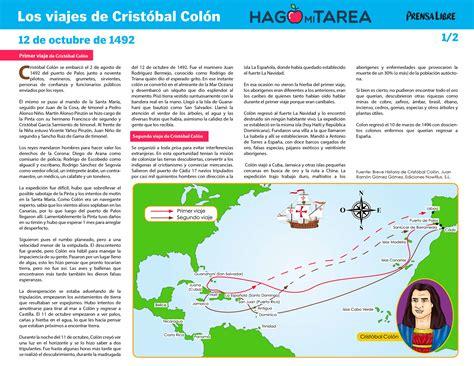 Rutas De Los Barcos De Cristobal Colon by Primer Y Segundo Viaje De Crist 243 Bal Col 243 N Hago Mi