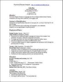 functional resume sle secretary cytotechnologist sle resume