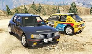 Peugeot 205 Turbo 16  Add-on