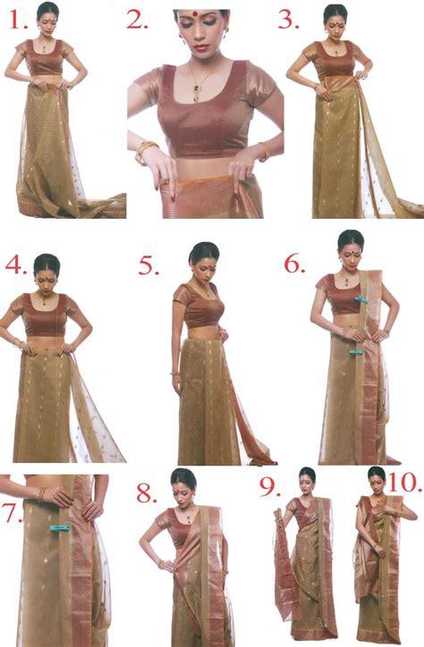 How To Drape Saree Perfectly - how to drape a saree quickly diy saree draping easily