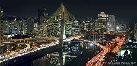 Sao Paulo - Ponte Estaiada / Sao Paulo Cable-stayed Bridge ...